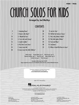 Church Solos for Kids: Vocal