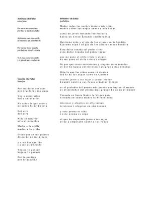 Favorite Spanish Art Songs: Arr. (Richard Walters): High Voice