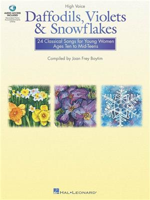 Daffodils, Violets and Snowflakes