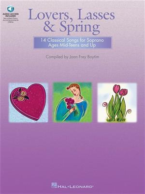 Lovers, Lasses & Spring: Piano, Vocal, Guitar