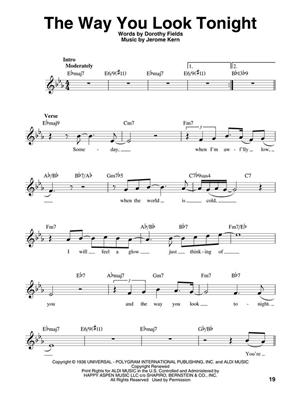 Great Standards : Melody, Lyrics & Chords
