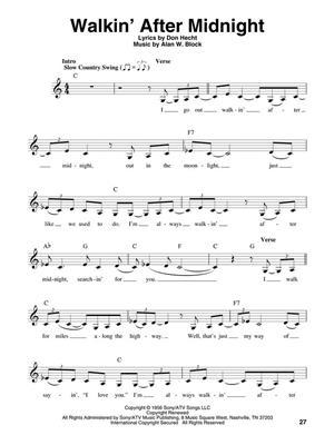 Patsy Cline: Patsy Cline: Melody, Lyrics & Chords