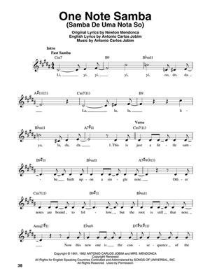 Judy Niemack: Jazz Vocal Standards: Melody, Lyrics & Chords