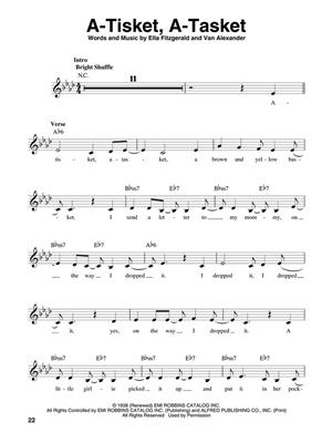Ella Fitzgerald: Ella Fitzgerald: Melody, Lyrics & Chords