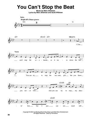 Marc Shaiman: Hairspray: Melody, Lyrics & Chords