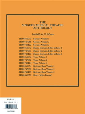 The Singer's Musical Theatre Anthology - Volume 2: Arr. (Richard Walters): Baritone or Bass