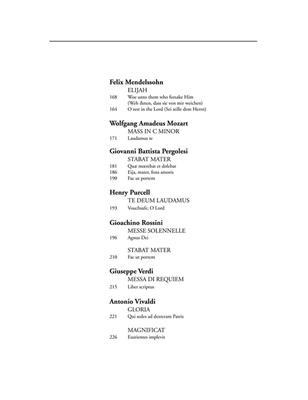Richard Walters: The Oratorio Anthology - Mezzo Soprano: Vocal