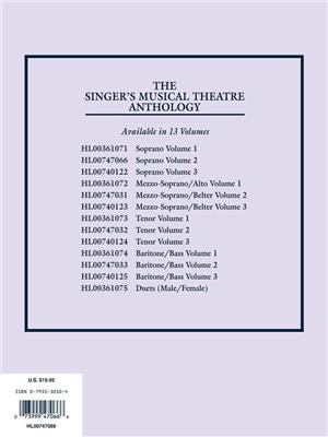 The Singer's Musical Theatre Anthology - Vol. 2: Arr. (Richard Walters): Voice