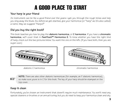 FastTrack - Mini Harmonica Pack: Harmonica