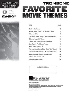 Favorite Movie Themes - Trombone: Trombone