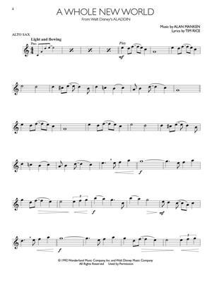 Disney Movie Hits - Alto Saxophone: Alto Saxophone