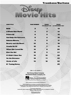 Disney Movie Hits - Trombone/Baritone: Trombone