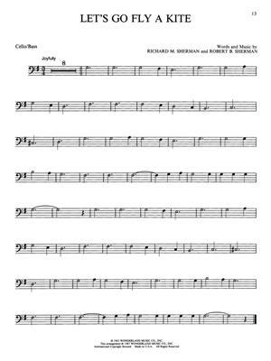Easy Disney Favorites  - Cello: Cello