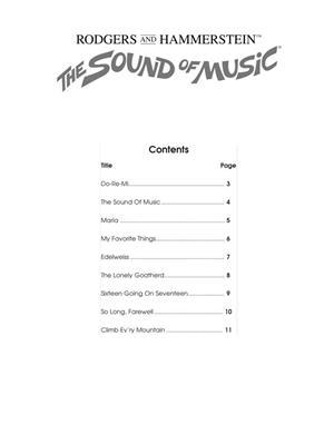 Oscar Hammerstein II: The Sound of Music - Clarinet: Clarinet