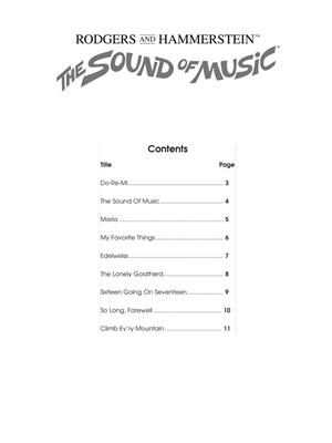 Oscar Hammerstein II: The Sound of Music - Alto Saxophone: Saxophone
