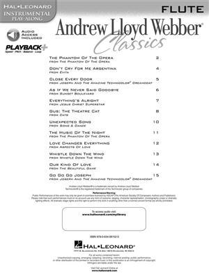 Andrew Lloyd Webber: Andrew Lloyd Webber Classics - Flute: Flute