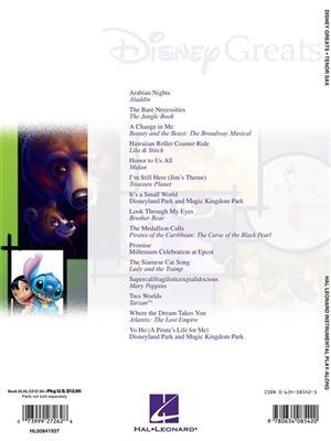 Disney Greats - Tenor Saxophone: Tenor Saxophone