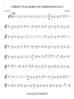 Christmas Carols - Alto Saxophone: Alto Saxophone