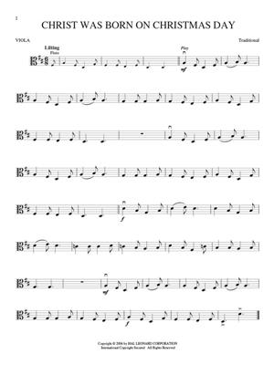 Christmas Carols - Viola: Viola