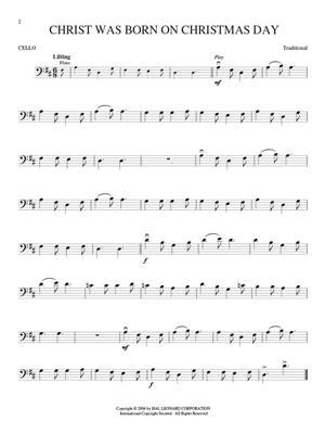 Christmas Carols - Cello: Cello
