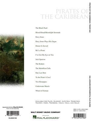 Klaus Badelt: Pirates of the Caribbean - Tenor Saxophone: Saxophone