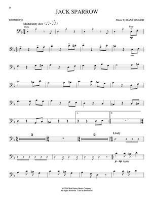 Klaus Badelt: Pirates of the Caribbean - Trombone: Trombone