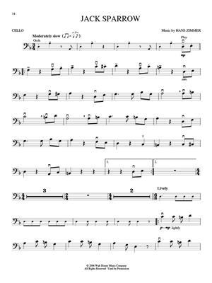 Klaus Badelt: Pirates of the Caribbean - Cello: Cello