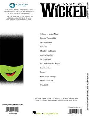 Stephen Schwartz: Wicked - Clarinet: Clarinet