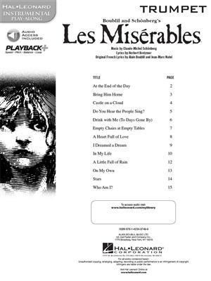 Alain Boublil: Les Miserables - Trumpet: Trumpet Solo