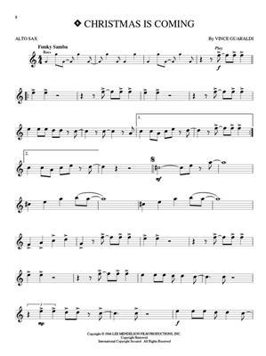 Vince Guaraldi: Peanuts - Alto Saxophone: Alto Saxophone