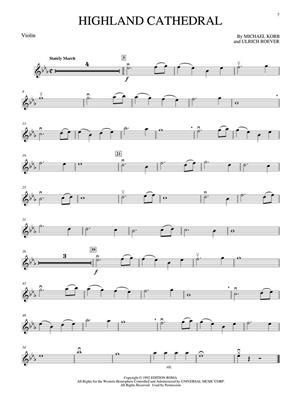 Wedding Violin Solos: Violin