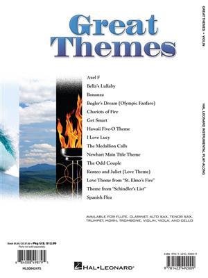 Great Themes - Violin: Violin