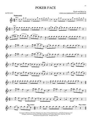 Popular Hits - Alto Saxophone: Alto Saxophone