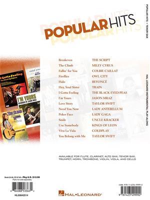 Popular Hits - Tenor Saxophone: Saxophone