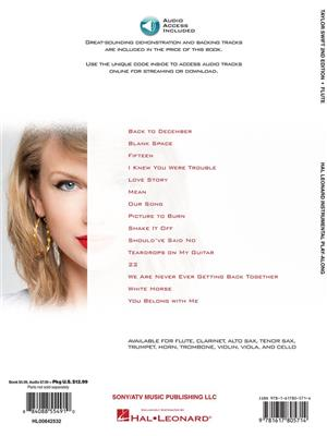 Taylor Swift: Taylor Swift - 2nd Edition: Flute Solo