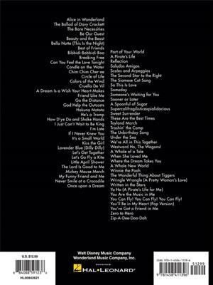 The Big Book of Disney Songs (Viola): Viola