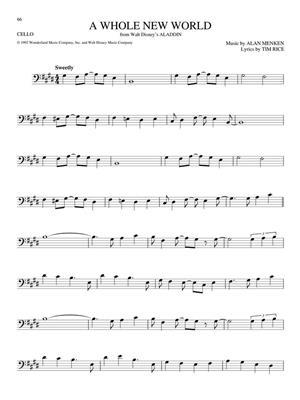 The Big Book of Disney Songs (Cello): Cello