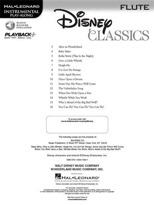 Disney Classics - Flute: Flute