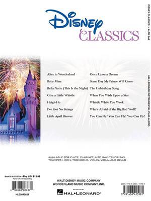 Disney Classics - Alto Saxophone: Alto Saxophone