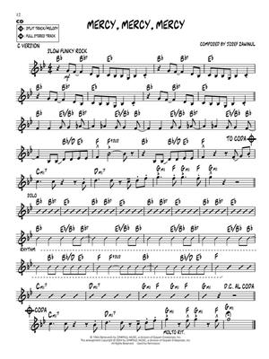 Bluesy Jazz: C/ B-Flat/E-Flat and Bass Instruments