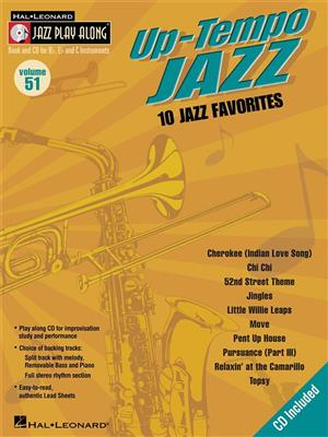 Up-Tempo Jazz: Any Instrument