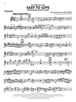 Standards: Big Band Play-Along Volume 7: Tenor Saxophone