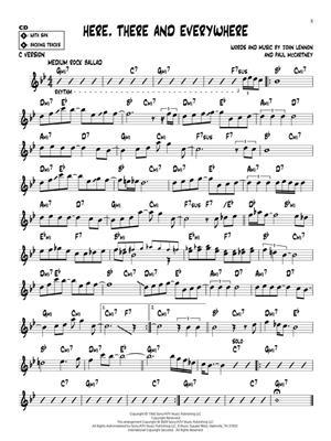 Maybe I'm Amazed: Any Instrument