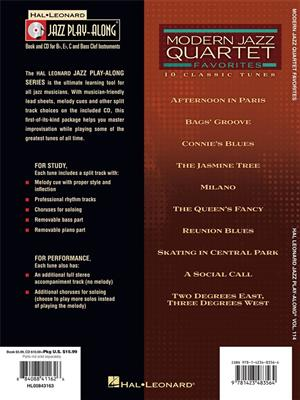 Modern Jazz Quartet: Modern Jazz Quartet Favorites: Any Instrument