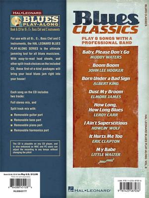 Blues Classics : Any Instrument