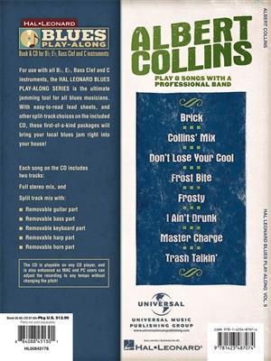 Albert Collins: Blues Playalong 009 (Albert): Any Instrument
