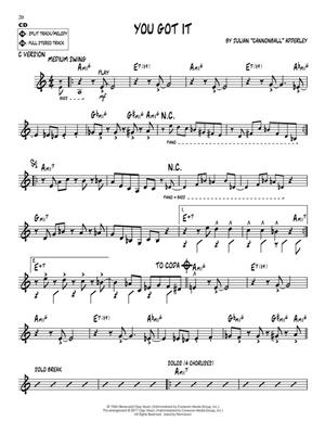 Julian Cannonball Adderley: Julian Cannonball Adderley: C/ B-Flat/E-Flat and Bass Instruments