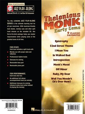 Thelonious Monk: Thelonious Monk - Early Gems: Any Instrument