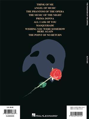 Andrew Lloyd Webber: The Phantom of the Opera: Alto Saxophone