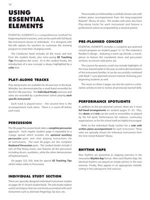 Essential Elements for Band - Book 2 - Score